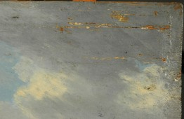 J. Govaerts, detail houtrot voorzijde